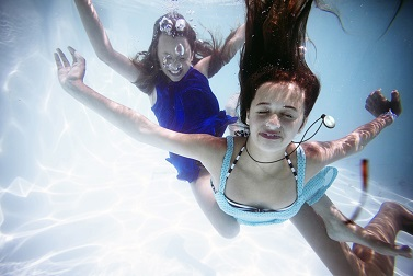 Weightless In The Water